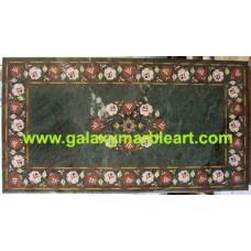 "green table top rectangular 26*48"" BRI-191"