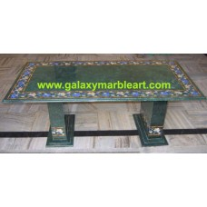 "green table top rectangular 24*48"" BRI-197"