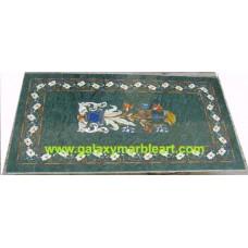 "green table top rectangular 22*40"" BRI-2"