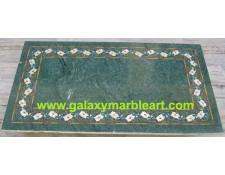 "green table top rectangular 22*40"" BRP-1"