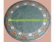 "green table top round  24"" BRP-2403"