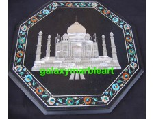 Black table top with Taj Mahal  BPOC-17199