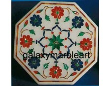 high quality marble inlay box-OC3539