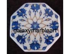 marble box inlaid with lapislazuli stone  OC301
