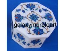 rose flower marble inlay box OC3116