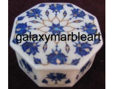 marble box with lapislazuli stone  OC301