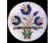 agra marble inlay box-RO2532