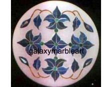 Artistic marble inlay box-RO330