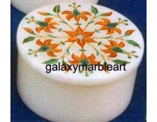Inlay design marble box-RO382
