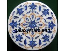 Agra marble inlay box-RO495