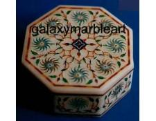 Intricate design Taj mahal art box-OC443