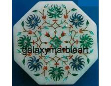 Decorative stones inlaid box-OC448