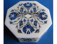agra marble inlay box-OC503