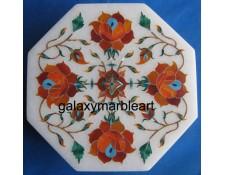 marble inlay craft box-OC505