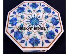 indian marble inlay box-OC6102