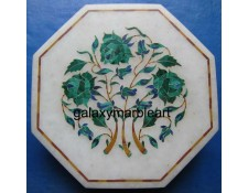 beautiful decorative marble inlay box-OC603