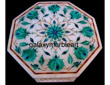 Taj mahal inlay work decorative box-OC666