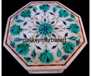 Taj mahal inlay work decorative box-OC666