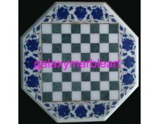 "marble inlay chessboard 15"" Chess-1501"