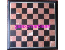 "marble inlay chessboard 16"" Chess-1601"