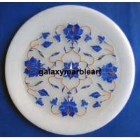 Elegant  stones inlay work plate Pl-601