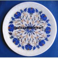 Semi-precious stones inlay work plate Pl-602