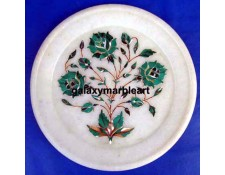 Floral design inlay plate Pl-604