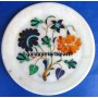 """marble inlay plates 6"""""""