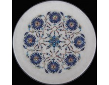 Marble inlay intricate  workmanship plate Pl-803