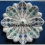 plates 8'' inlaid with semi-precious stones