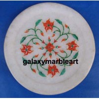 marble inlay plate  Pl-501