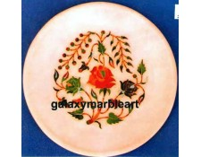 Handicraft marble inlay plate Pl-510