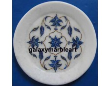 Taj mahal inlay work plate Pl-511