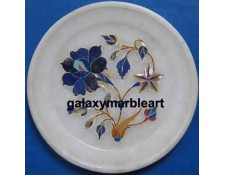 handcrafted rose flower plate Pl-513