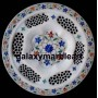 """marble inlay plates 10"""""""