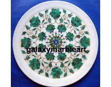 marble inlay plate Pl-1001