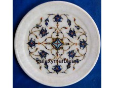 Simple inlay work  geometrical design plate Pl-713