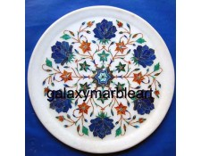 Handmade Wall decoration marble inlay plate Pl-902