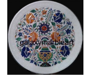 An unique design marble inlay wall plate Pl-1219
