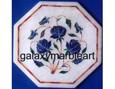 "marble inlay work tile oct  5"" TP-510"