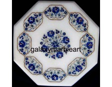 Elegant design marble inlay table top WP-1601