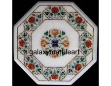 Super Quality Agra marble inlay handicraft table top WP-1602