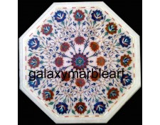 Taj Mahal inlay white table top WP-1803