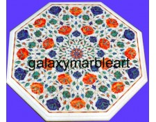 Immaculate pietra dura stones inlaid  table top WP-1810