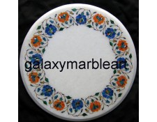 Decorative marble inlay handicraft table top WP-18202
