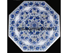 Decorative stone inlaid marbletable top WP-18207
