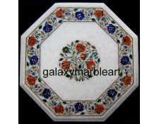Exquisite marble inlay table top WP-18216