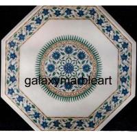 Classical Taj Mahal sunflower design marble inlay table top WP-1891
