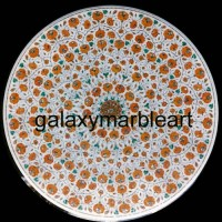 """artistic marble dining table top  48"""" WP-4801"""