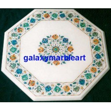 """white table top 23"""" WP-23185"""
